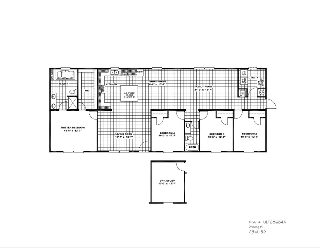The ULTRA PRO 68 Floor Plan