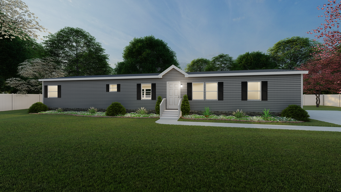 The ULTRA PRO 72 Exterior. This Manufactured Mobile Home features 4 bedrooms and 2 baths.